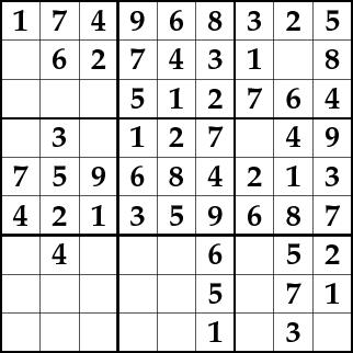 Sudoku with Prolog